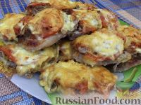 Фото к рецепту: Мясо по-французски