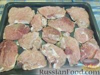 Фото приготовления рецепта: Мясо по-французски - шаг №7