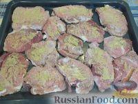 Фото приготовления рецепта: Мясо по-французски - шаг №8
