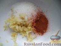 Фото приготовления рецепта: Кимчи из белокочанной капусты - шаг №9