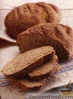 Фото к рецепту: Ржаной хлеб с семенами льна