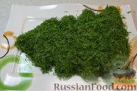 Фото приготовления рецепта: Салат на Новый Год «Елочка» - шаг №5