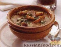 Фото к рецепту: Картофельно-луковый суп-пюре
