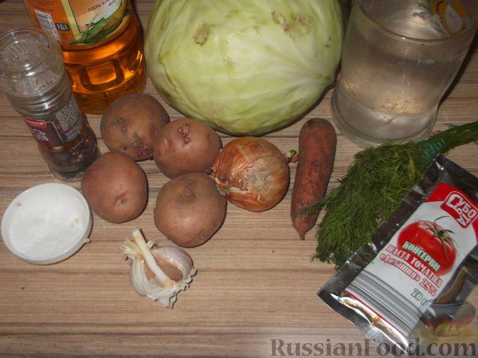 Суп из свежей капустой рецепты