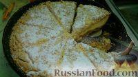 Фото к рецепту: Насыпной творожный пирог