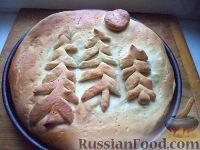 Фото к рецепту: Пирог рыбный с картофелем