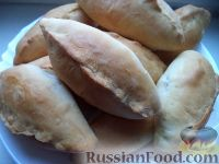 Фото к рецепту: Постные пирожки с картофелем