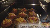 Фото приготовления рецепта: Мясные лукошки - шаг №9