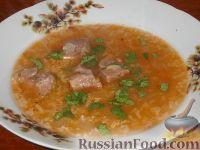Фото к рецепту: Суп харчо по-грузински