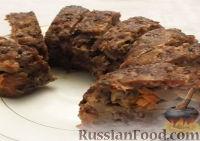 Фото к рецепту: Мясной рулет с грибами