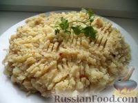 Фото к рецепту: Начинка картофельно-капустная