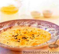 Фото к рецепту: Сырный суп с сельдереем