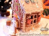 Фото к рецепту: Пряничный домик