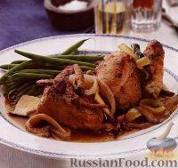 Фото к рецепту: Курица с лесными грибами