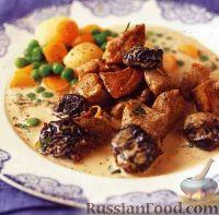 Фото к рецепту: Телятина с черносливом
