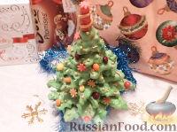 """Фото к рецепту: Торт """"Новогодняя елочка"""""""