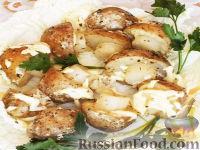 """Фото к рецепту: """"Грибочки"""" из картофеля"""
