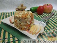 Фото к рецепту: Праздничный салат с тунцом