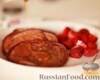 Фото к рецепту: Шоколадные оладьи