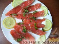 Фото к рецепту: Засолка лососевых (кеты, горбуши)