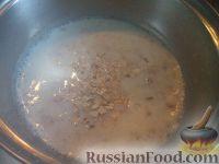 Фото приготовления рецепта: Каша из овсяных хлопьев «Геркулес» - шаг №4