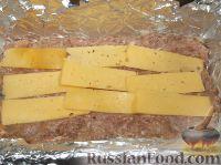 Фото приготовления рецепта: Мясной рулет с тыквой и сыром - шаг №10