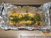 Фото приготовления рецепта: Мясной рулет с тыквой и сыром - шаг №11