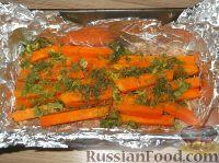 Фото приготовления рецепта: Мясной рулет с тыквой и сыром - шаг №13