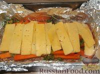 Фото приготовления рецепта: Мясной рулет с тыквой и сыром - шаг №14