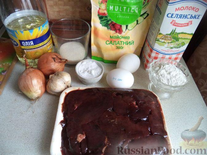 Рецепт печеночный торт с манкой рецепт