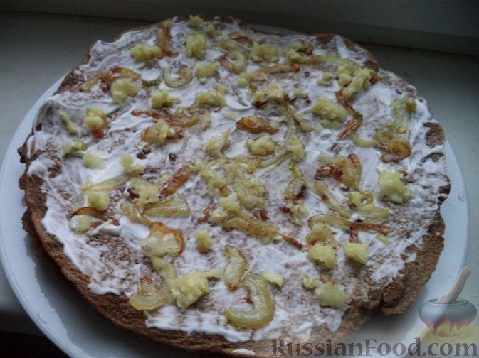 приготовление печеночного торта рецепт