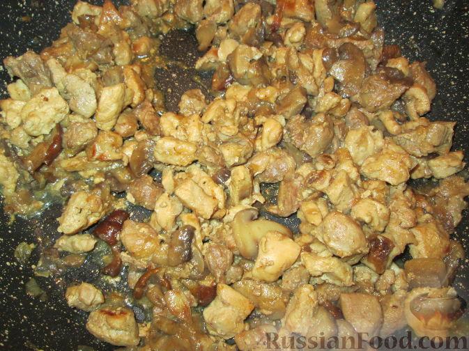 Как приготовить жульен из свинины