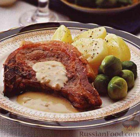свиная корейка жареная на сковороде рецепт с фото