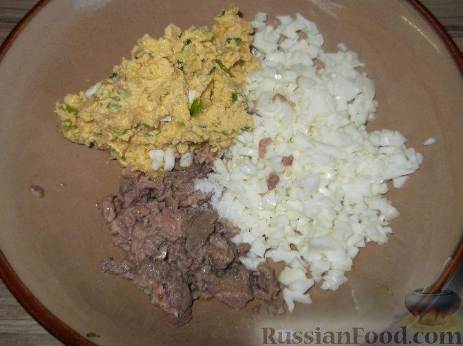 салат из печени с луком рецепт с фото