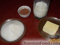 Фото приготовления рецепта: Глазурь шоколадная - шаг №1