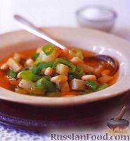 Фото к рецепту: Суп с ребрышками и фасолью
