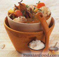 Фото к рецепту: Матлот (французское рагу из рыбы и овощей)