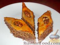 Фото к рецепту: Пахлава бакинская