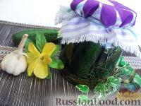 Фото к рецепту: Огурцы малосольные