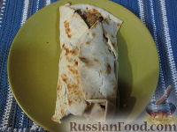 Фото к рецепту: Лепешки (фахитас) по-мексикански