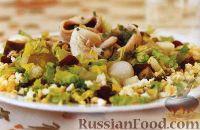Фото к рецепту: Салат с сельдью