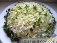 Фото к рецепту: Салат из курицы с черносливом