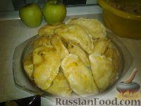 Фото к рецепту: Вареники с картошкой и свиной печенью (на сыворотке)