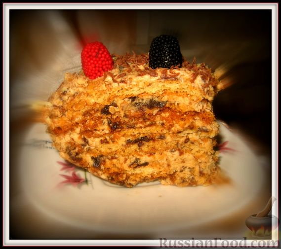 """Рецепт Мой любимый тортик """"Праздничный"""""""