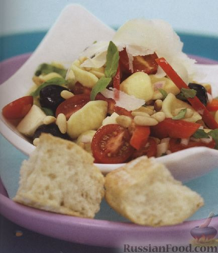 Рецепт Итальянский салат из макарон