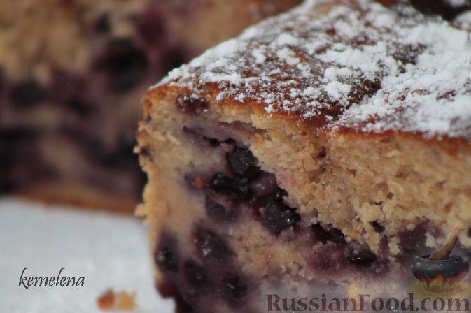 Рецепт Чернично-йогуртовый кекс