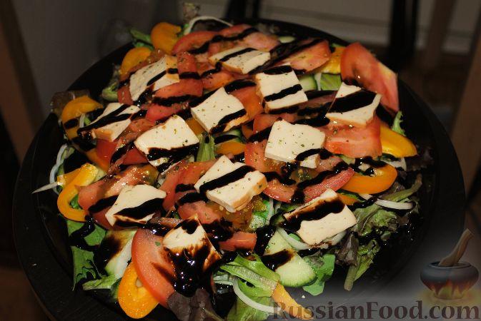 Рецепт Вкусный постный салатик