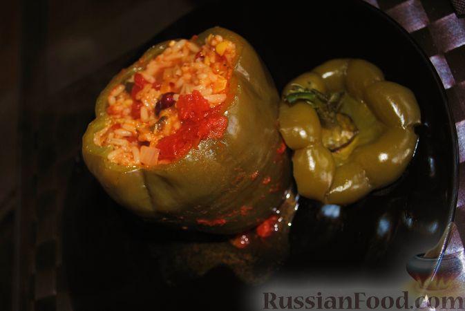Фото к рецепту: Перцы по-техасски