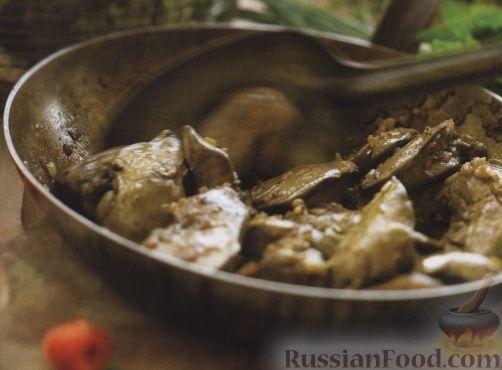 Рецепт Жареная куриная печень