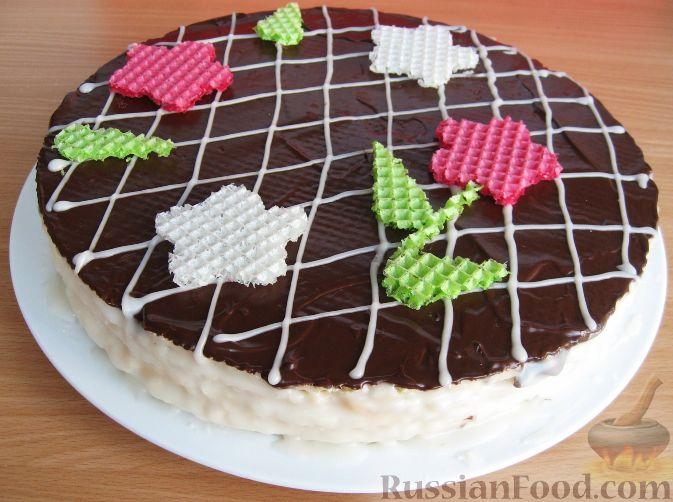 Как сделать красивый торт рецепт